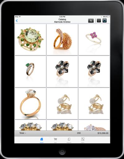 Jewelry Catalog Display