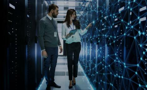Server management for leading provider of broadband satellite services