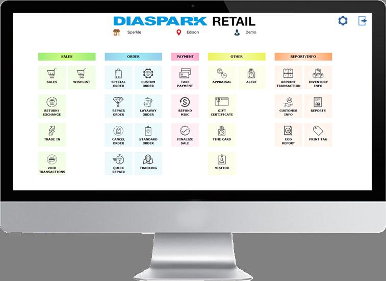 Jewelry Retail Software POS - Diaspark